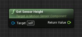 get-sensor-height